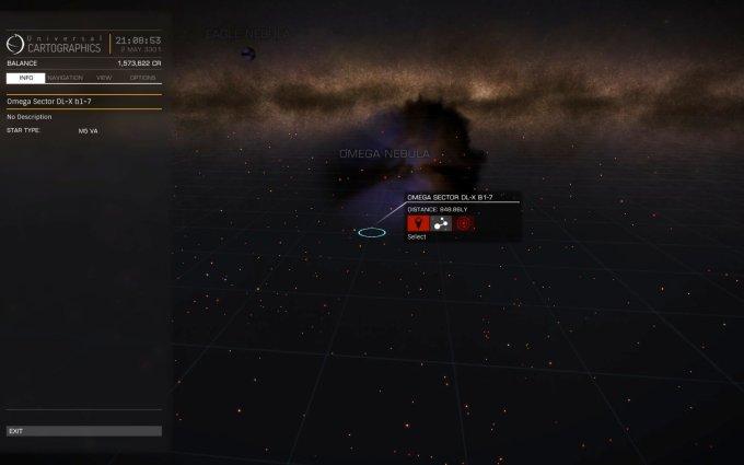 omega nebula WEB